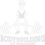 Logo Bodybuilding Walldorf weiß